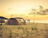 Summer Camping Photography, Sunrise Photograph, July Morning Sunset, Nature Photography. 8x10, 8x12, 10x15, 11x14, 16x20, 16x24