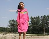 pink dress blue dress black dress cotton dress patchwork dress