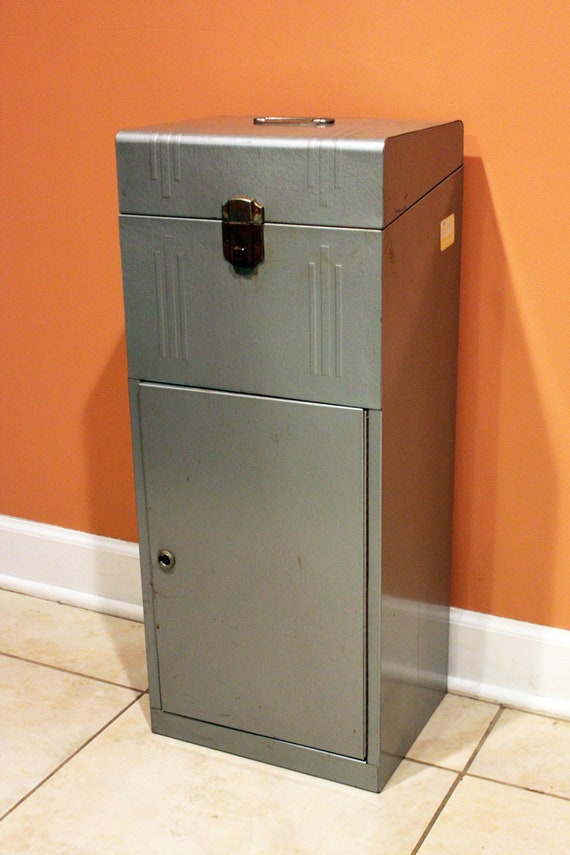 Acorn file cabinet mid century art deco metal home for Acorn kitchen cabinets