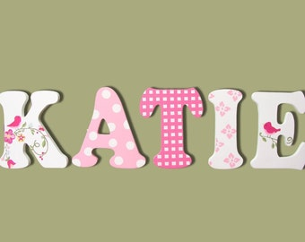 Wooden Signs, Wall Letters For Nursery, Wall Decor, Wooden Letters, Painted Letters, Nursery Name Sign, Name Sign, Cute Boutique