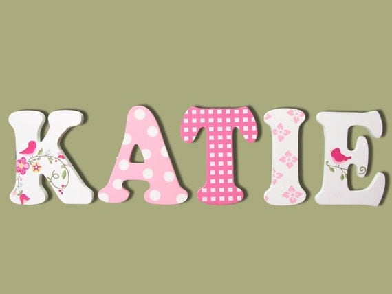Wooden Signs Wall Letters For Nursery Wall Decor Wooden Letters Painted Letters Nursery Name Sign Wall Letters Name Sign Cute Boutique