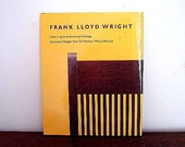 1989 Frank Lloyd Wright 1st Edition Book Color Plates Photos and Drawings