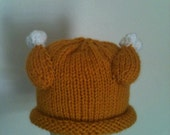 knitted TURKEY hat