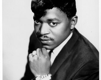 Percy Sledge Publicity Photo     8 by 10 inches