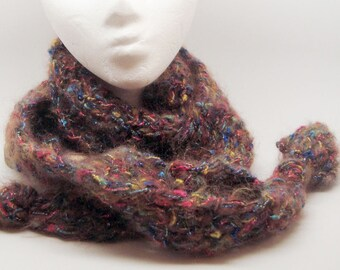 Moonlight Mohair Fashion Scarf