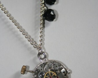 Steampunk  Compass Steampunk Necklace