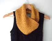 Mustard Infinity Scarf .....