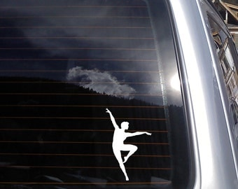 Ballerina no.4 Vinyl Decal (4 x 6 inches) K321