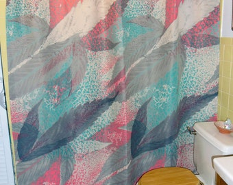 """Shower Curtain - """"Blade Leaves"""""""