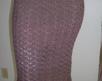 Lacy Shell Skirt