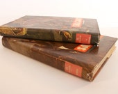 Vintage 1950s Emilio Salgari Spanish books - pair
