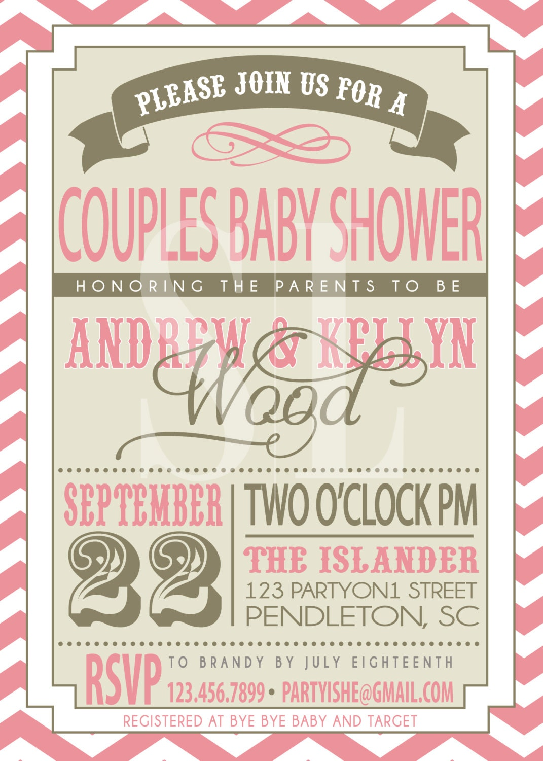 Couples Shower Invites for luxury invitations design