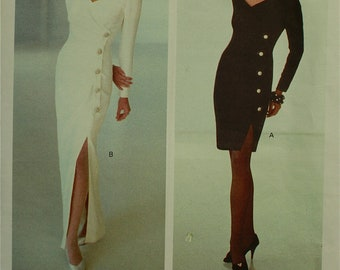 Vogue Designer Gown by Bellville Sassoon Vogue Pattern 2596  Uncut   Size 6-8-10  Bust 30.5-31.5-32.5""
