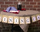 Vintage Train Theme Birthday Party Dining Car Banner