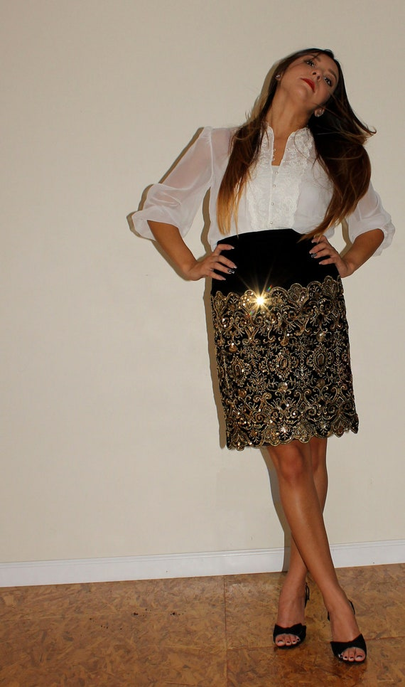 Worth Its Weight In Gold Skirt
