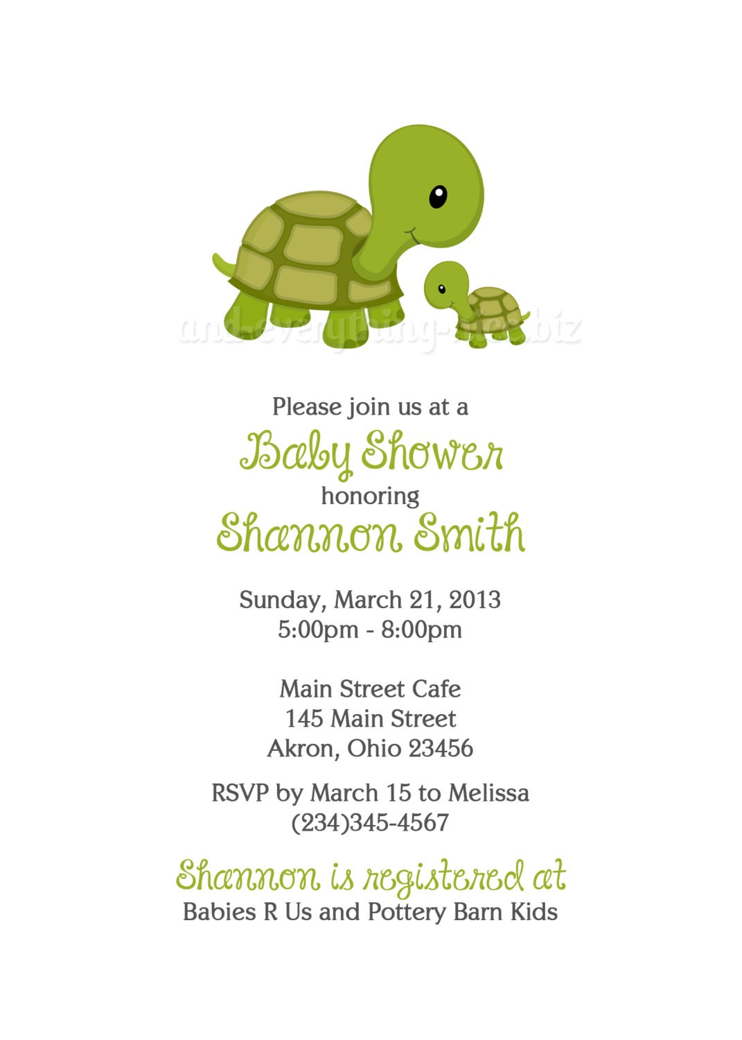 Turtle Baby Shower Invitations can inspire you to create best invitation template