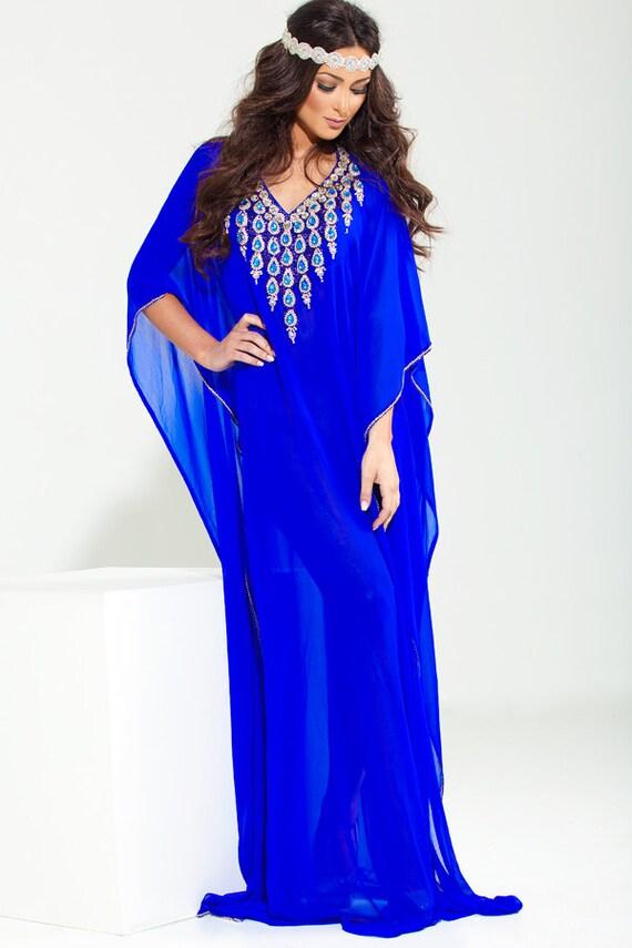 """Yara Yosif """"Noor"""" Kaftan caftan abaya henna bridal eid wedding party  Dress"""