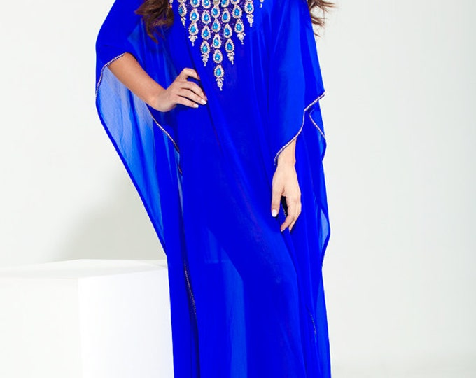 "Yara Yosif ""Noor"" Kaftan caftan abaya henna bridal eid wedding party  Dress"