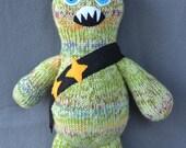 Knitted Monster- Ninja Riley