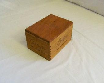 Cigar box jewelry box
