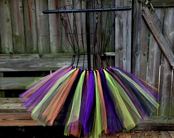 Lucinda Tutu - Witch Halloween Tutu - Available in Infant, Toddlers, Girls, Teenager, Adult and Plus Sizes