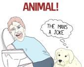 Funny Birthday Card - Party Animal