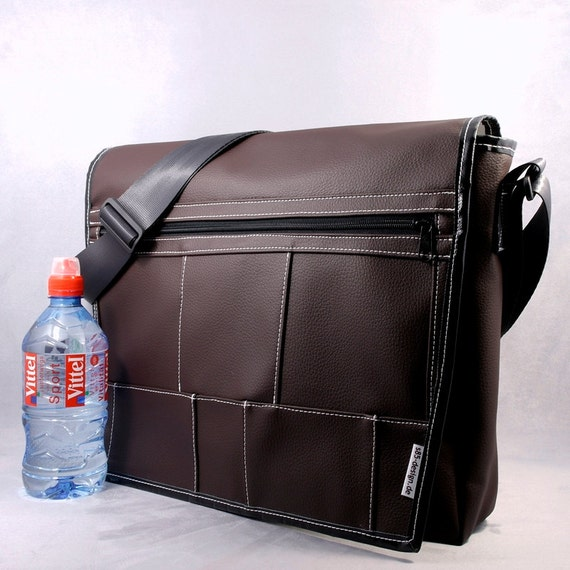 Shoulder / Messenger bag KINGSTON12L 38 synthetic leather / faux leather