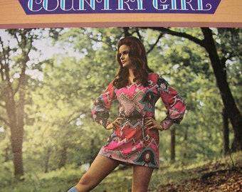 Jeannie C. Riley, Country Girl, 1970 Music LP Record Album plus