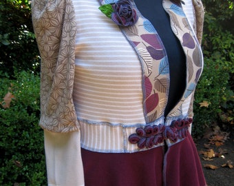 Woodland Frock / recycled cotton jacket