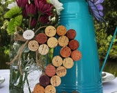 Wine Cork Table Numbers Wedding - Unique table number