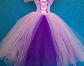 Rapunzel Princess Tutu Dress-  (Girls 12M-2T)