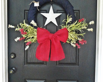 Stars of Americana - Patriotic Wreath