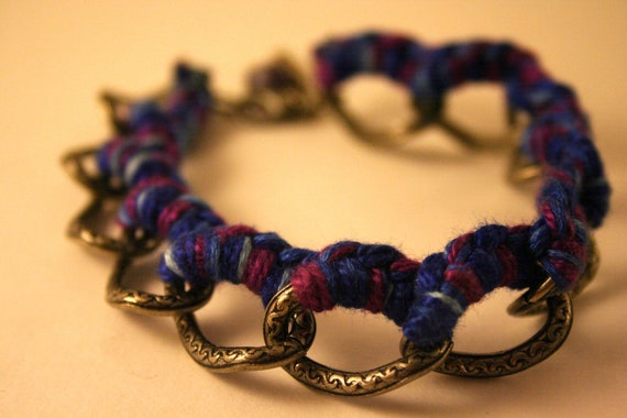 Braided Friendship Bracelet - Chain - Embroidery Thread