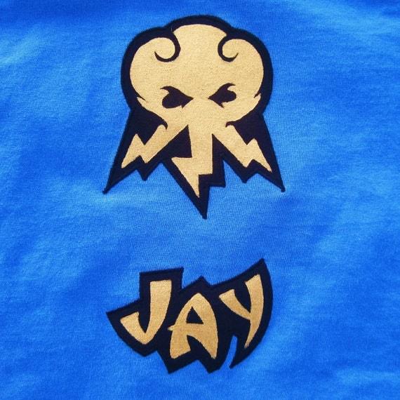 Tshirt lego ninjago jay the blue ninja inspired - Lego ninjago logo ...