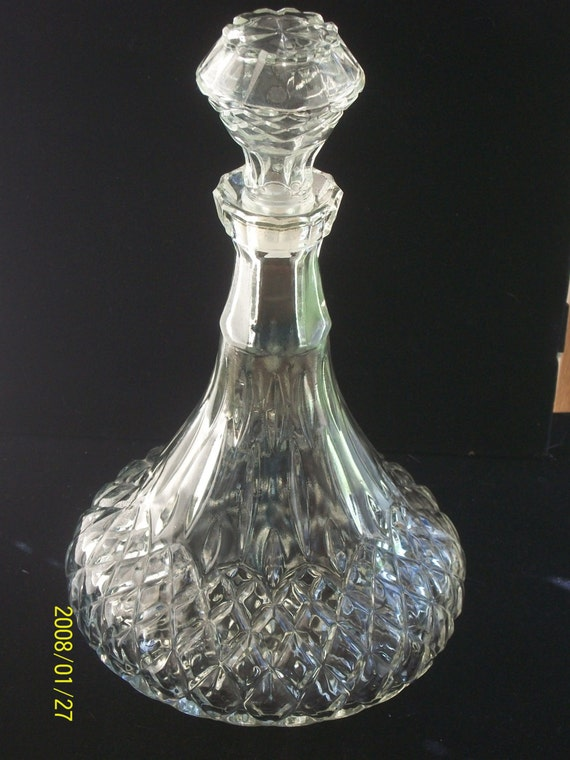 Vintage Liquor Decanter 3