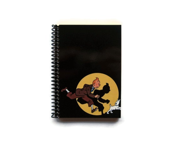 Tintin - Spiral Notebook - 4x6 in