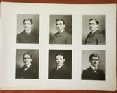 Yearbook Pages from MIT 1901 Senior Portfolio -- Mechanical Engineering