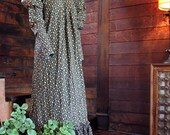 1960 Victorian Revival Maxidress... Mainly Trousers, Laurel Canyon