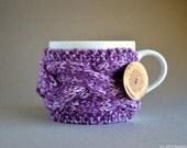 Coffee Mug Cozy, Tea Cozy, Coffee Cup Cozy, Tea Cosy, Cup Warmer, Knit Coffee Cozy, Knit Coffee Sleeve, Chunky Knit, Cup Sleeve