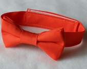 Orange Bowtie - Infant, Toddler, Boy      EASTER is March 27th!!                                2 weeks before shipping