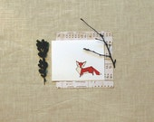 Fox Origami Stationery