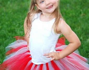 Ohio State Tutu And Matching Puff Clip Set - Custom Fitted for Babies and Children