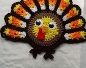 Crochet Thanksgiving Turkey Potholder