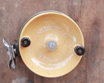 Vintage 70's Charles Alvey & Sons Sidecast 500/A5 7