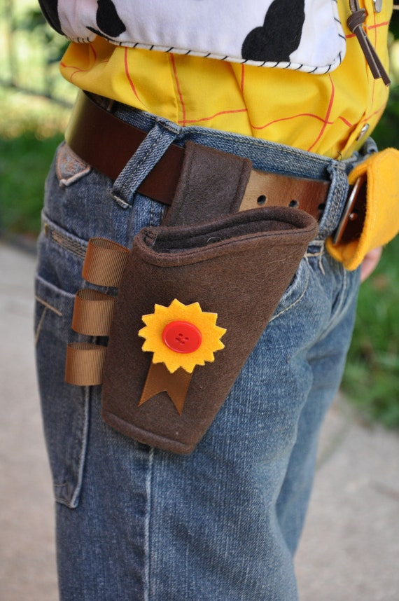 """Woody Gun Holster Costume Piece: """"The Woody"""".  Child and Adult Sizes! Gun Holster Toy."""
