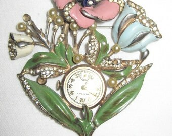 Extremely Rare Coq-D'or Watch Pin SALE