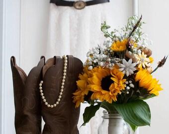 Custom Wedding Bridal Garter Set - Made to Order - Customized in Your Wedding Colors - Custom Bridal Toss Garter Set