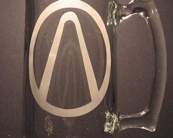 Borderland Borderlands Vault Symbol inspired  Engraved/Etched Glass Choose your glass style