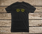 SALE! - Aviators P-51 Fighter Plane Attack Reflection in Sunglasses T Shirt