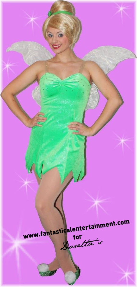 Tinkerbell Wig - Disney Princess inspired - Blonde short - Doretta's creations (MADE TO ORDER)